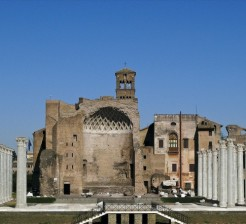 Temple of Venus and Rome Roman Forum - Rome